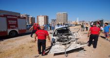 Şanlıurfa'daki kazada kamyon kanala uçtu 4 yaralı