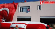 Urfa'da Yangın Tatbikatı Gerçeğini Aratmadı
