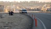 Karaköprü'de tehlikeli yol
