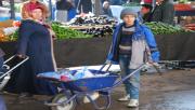 Urfa'da kilosundan ağır yük taşıyan çocuklar