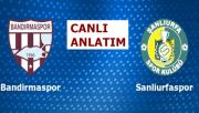Bandırmaspor 4-0 Şanlıurfaspor