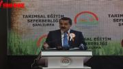 Şanlıurfa'da Tarımsal Eğitim Seferberliği startı verildi