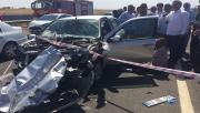 Urfa'da feci kaza,2 ölü, 3 yaralı