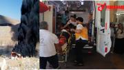 Urfa'da Otobüs Alev Aldı