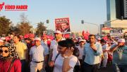 Urfa'da Darbeye Karşı Kortej Yürüyüşü Yapıldı