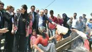 Tarım İşçileri Fakıbaba'yı Ağırladı