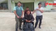 Eyyübiye Belediyesi Engelli Genc'e Akülü Araç Hediye Etti