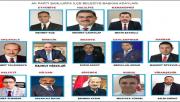 Urfa AK İlçe Adayları Açıklandı