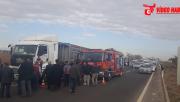 Urfa'da Trafik Kazası, 1 Ağır Yaralı
