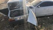Şanlıurfa'da trafik kazası, 2 ölü, 1 yaralı