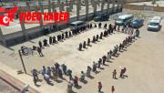 Barış Pınarında Bayram Öncesi İnsani Yardım Dağıtımı Tamamlandı