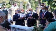 Urfa şehitleri mezarı başında anıldı