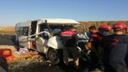 Urfa otobanında kaza,  11 yaralı