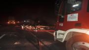 Urfa'da tır yandı