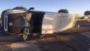 Şanlıurfa'da işçi minibüsü devrildi, 12 yaralı