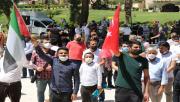 Balıklıgöl'de Filistin için gıyabi namazı kılındı