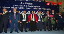 AK Parti adayları Nebati öncülüğünde sahaya indi