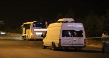 Şanlıurfa'da yolcu otobüsünde bomba ihbarı