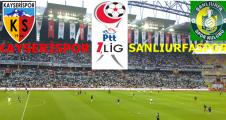 Kayserispor 3-0 Şanlıurfaspor