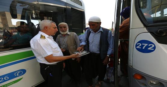 Vatandaşlar ücretsiz otobüsleri seçti