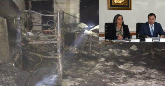 Yangında Hayatını Kaybeden Çocukları Unutmadı
