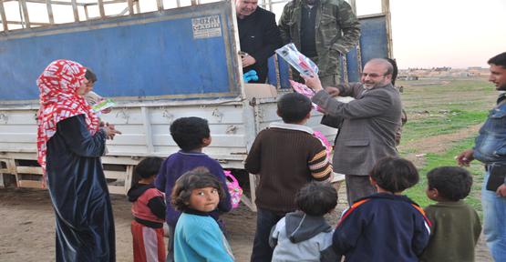 Yardım Platformu Suriye'de