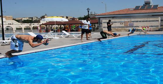 Yüzme Yarışması Sonuçlandı