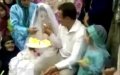 yok böyle düğün - Gelin Damatın Parmağını Isırdı Tokatı Yedi